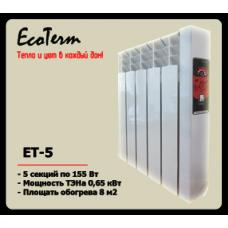 Электрическая батарея EcoTerm ET-5